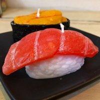 寿司キャンドル ウニ・大トロ