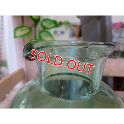 画像4: アンティークグリーン ガラスボトルM