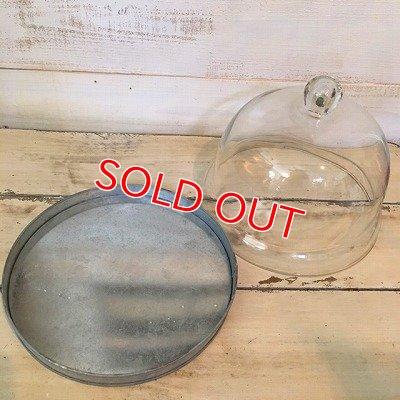 画像5: GC ブリキグレイ ガラスフードカバー&トレイM