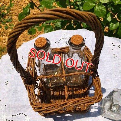 画像5: バスケ&ガラス 持ち手付 4ボトル